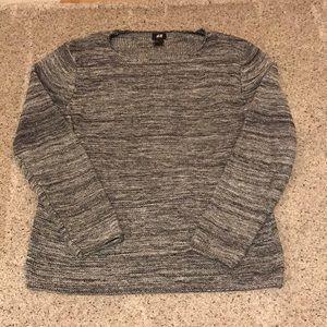 H&M open neck sweater